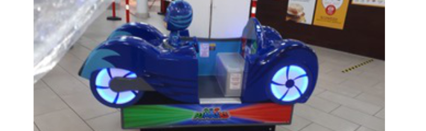 Kids' rides company uses grant to go cash-free