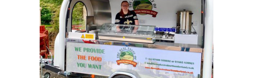Northumberland food business goes mobile