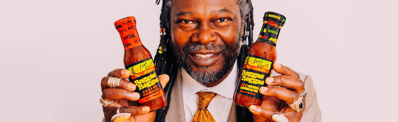 2 mins with Levi Roots
